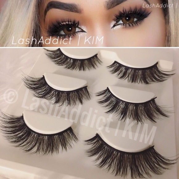 a518c1f81cb Makeup | Flutter Wsp Mink Lashes Eyelashes 3d Fur | Poshmark